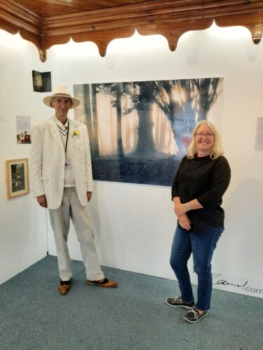 """""""Into the light"""" features images from Woodstock and beyond."""